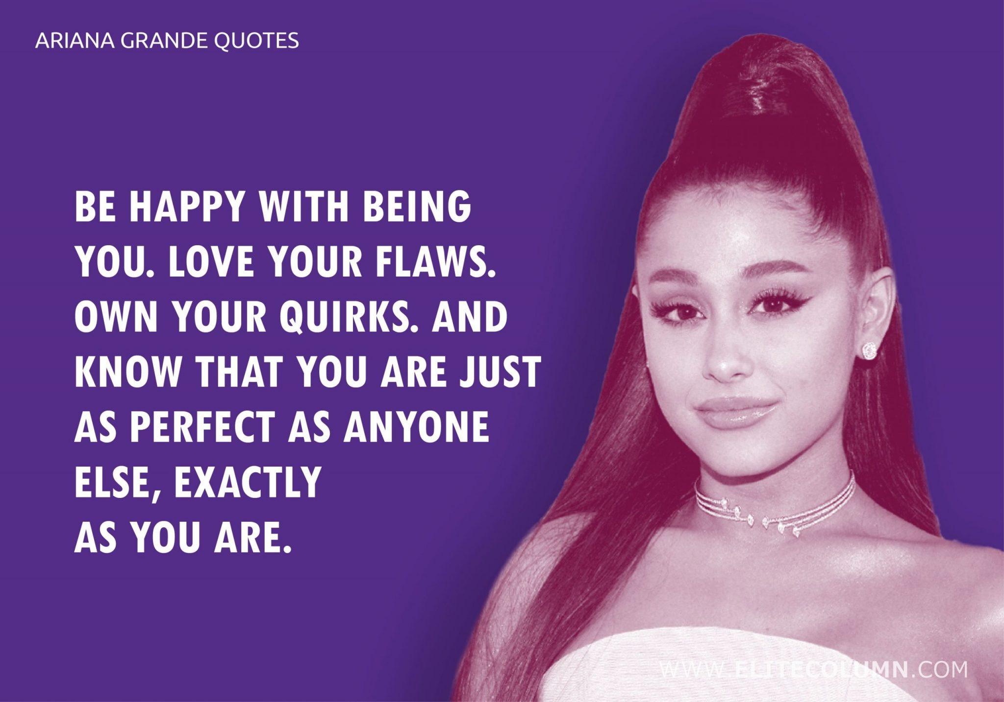Ariana Grande Quotes (2)