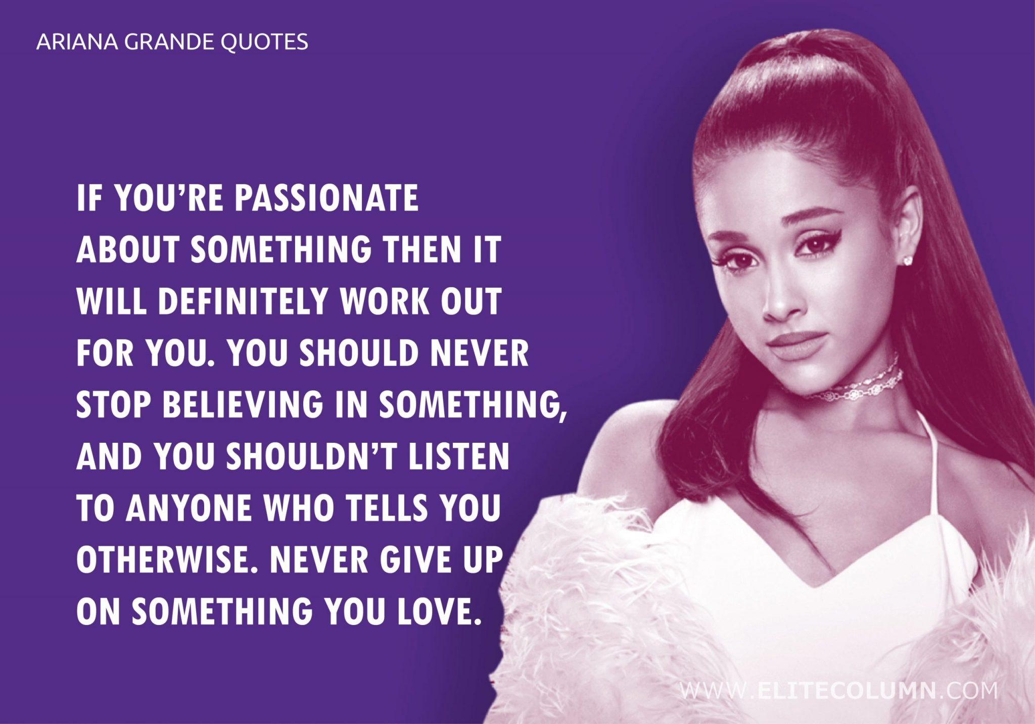 Ariana Grande Quotes (4)