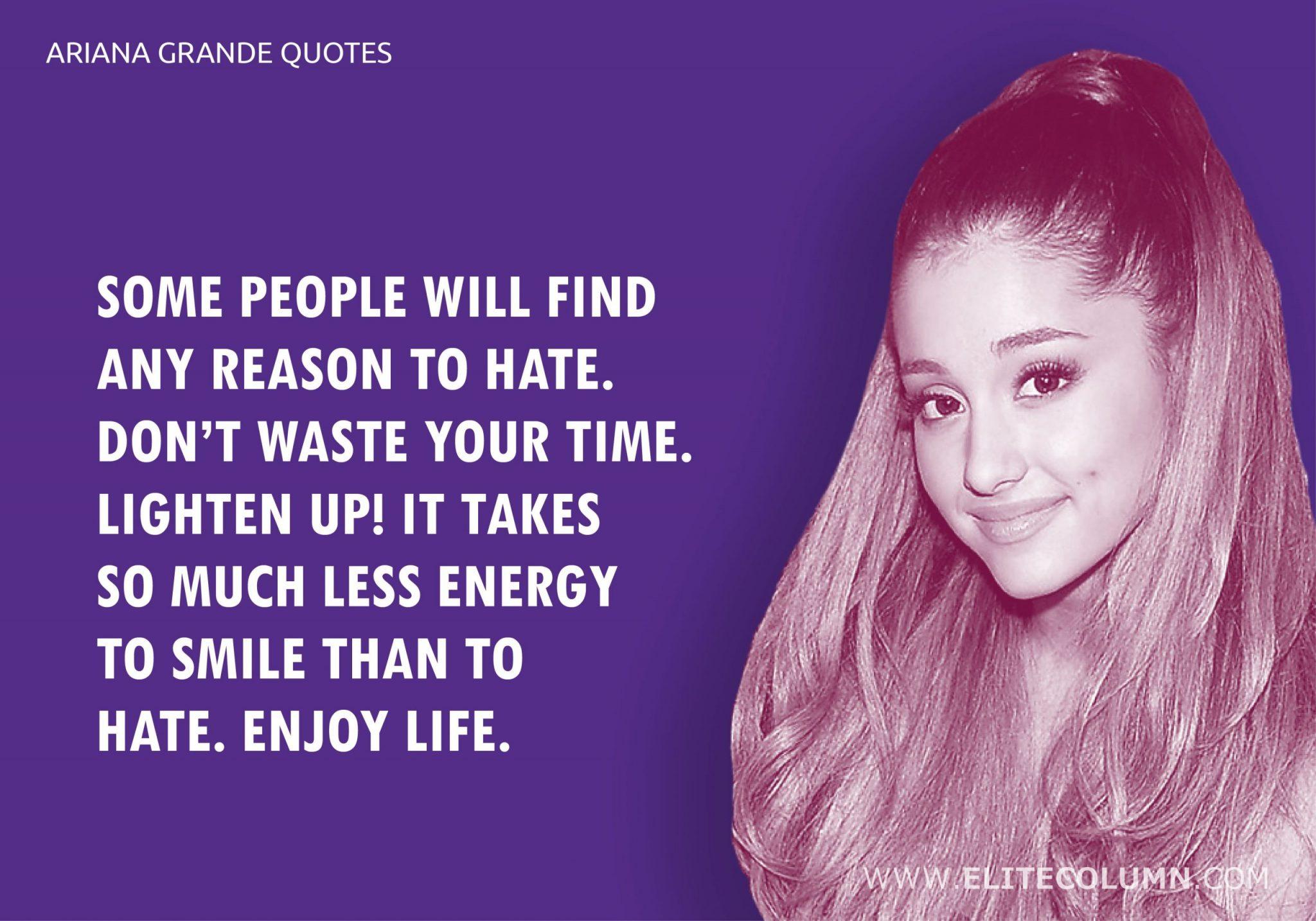 Ariana Grande Quotes (5)