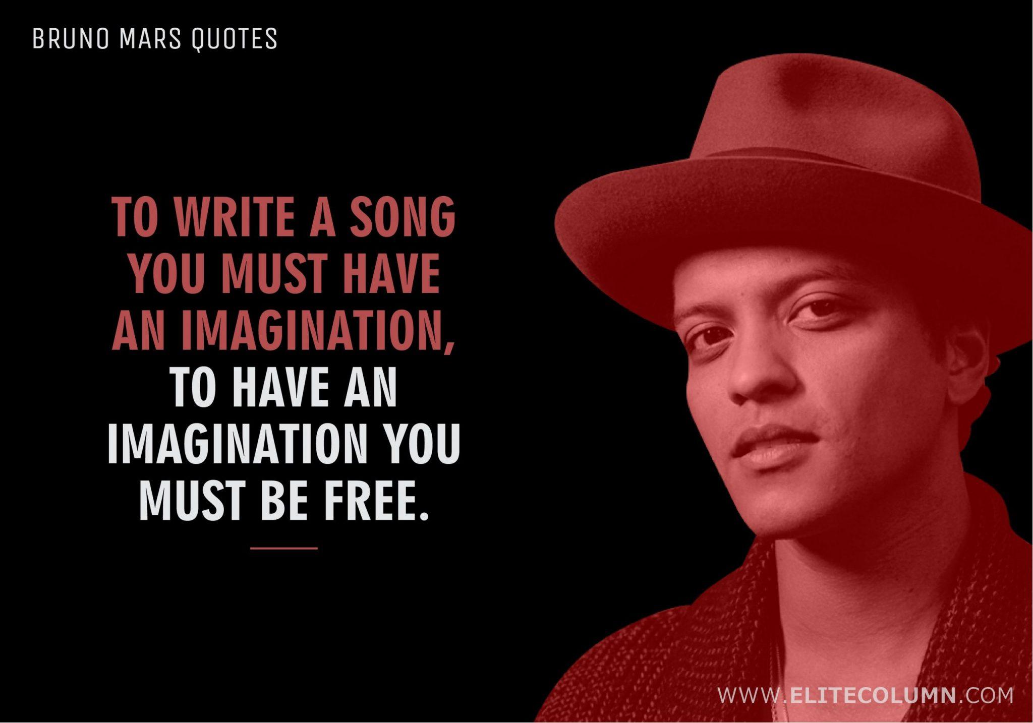 Bruno Mars Quotes (1)