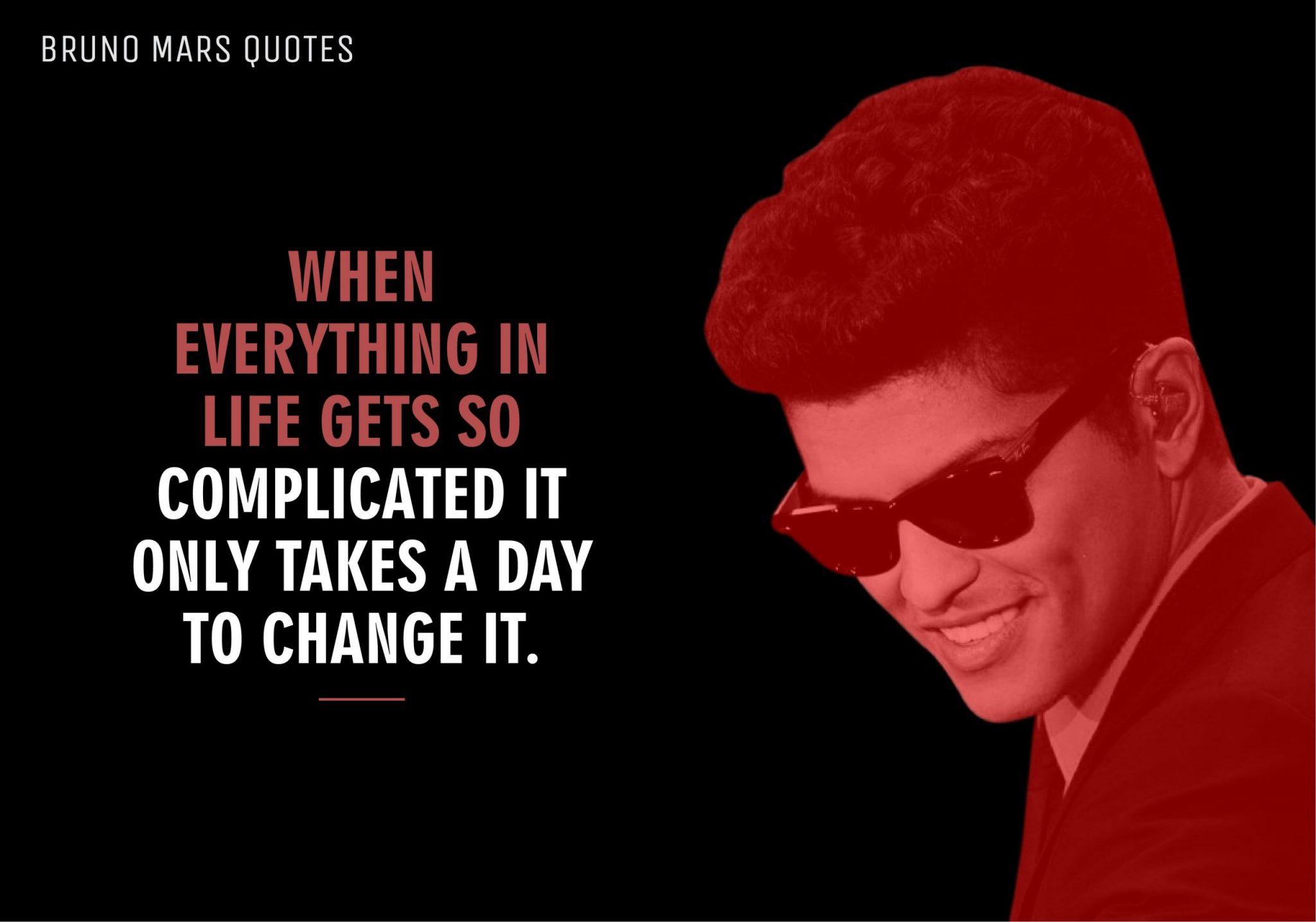 Bruno Mars Quotes (8)