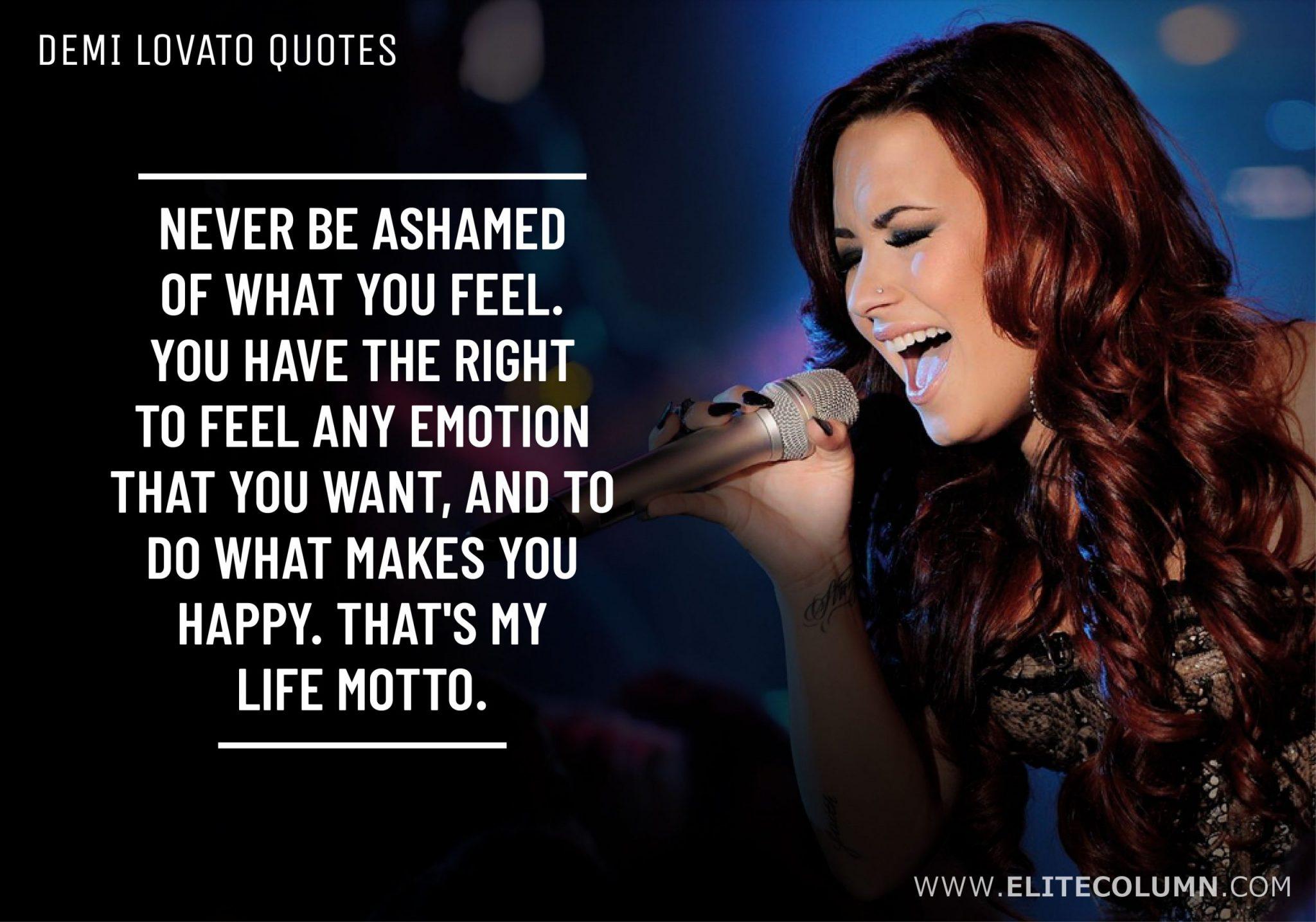 Demi Lovato Quotes (1)