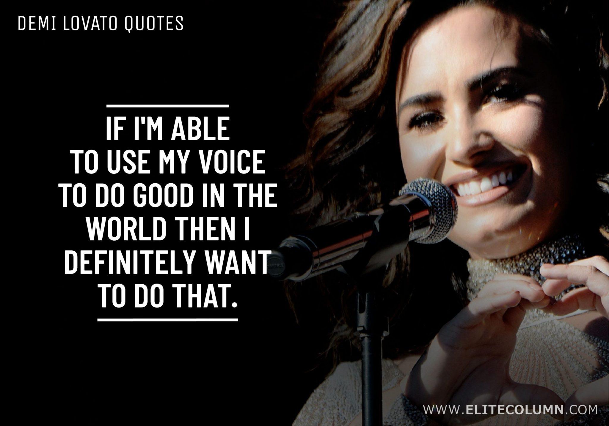 Demi Lovato Quotes (10)