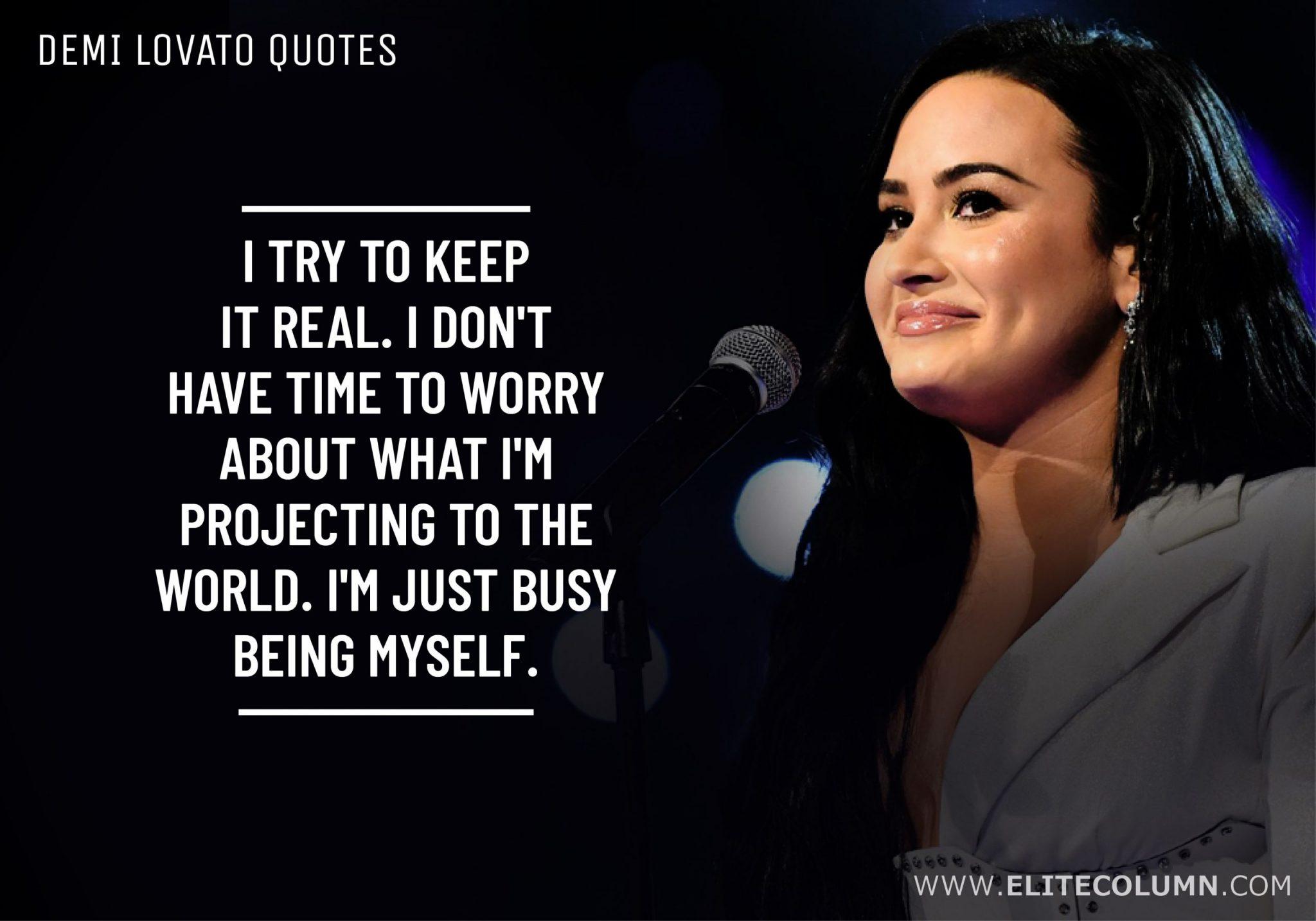 Demi Lovato Quotes (4)