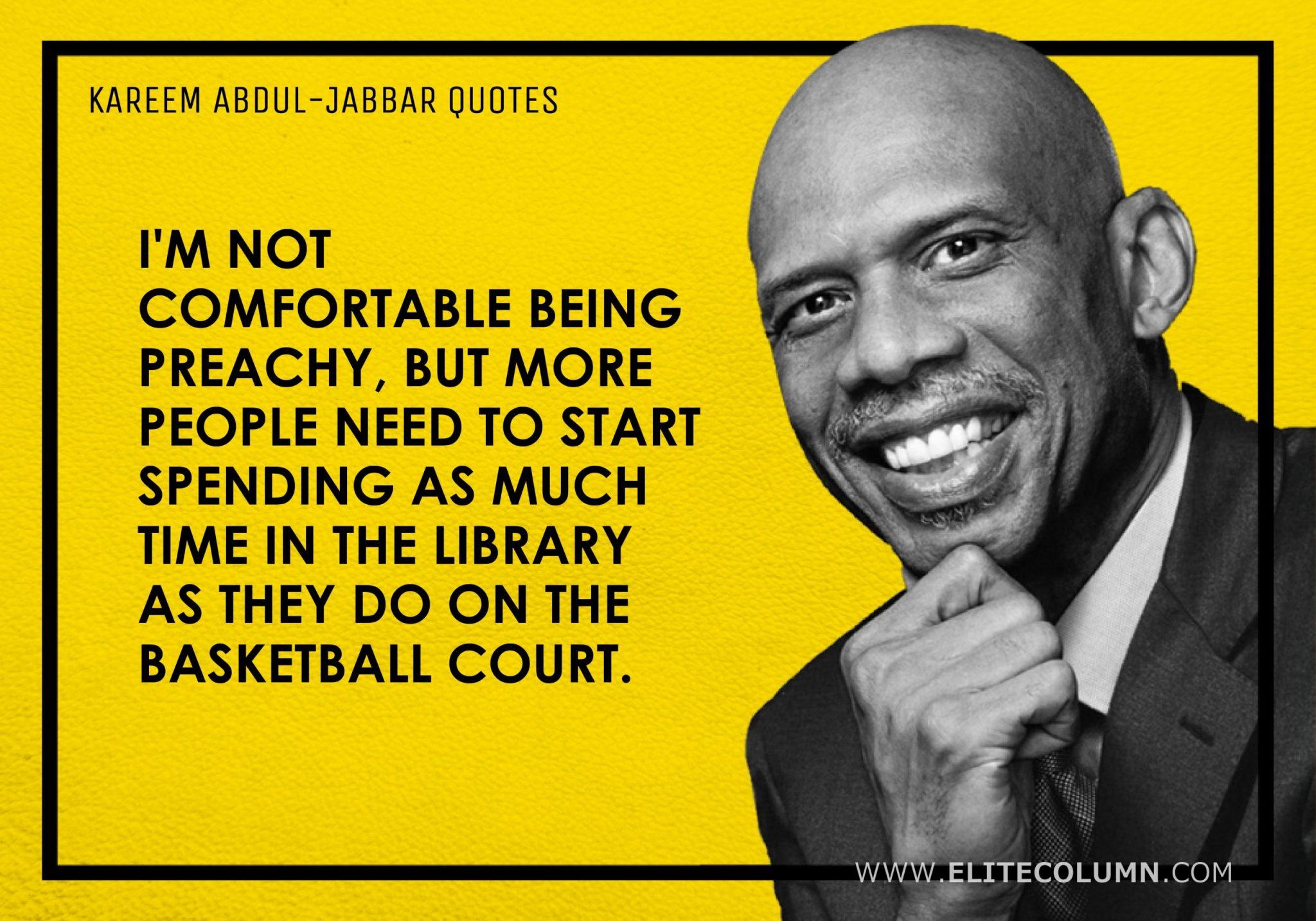 Kareem Abdul-Jabbar Quotes (1)