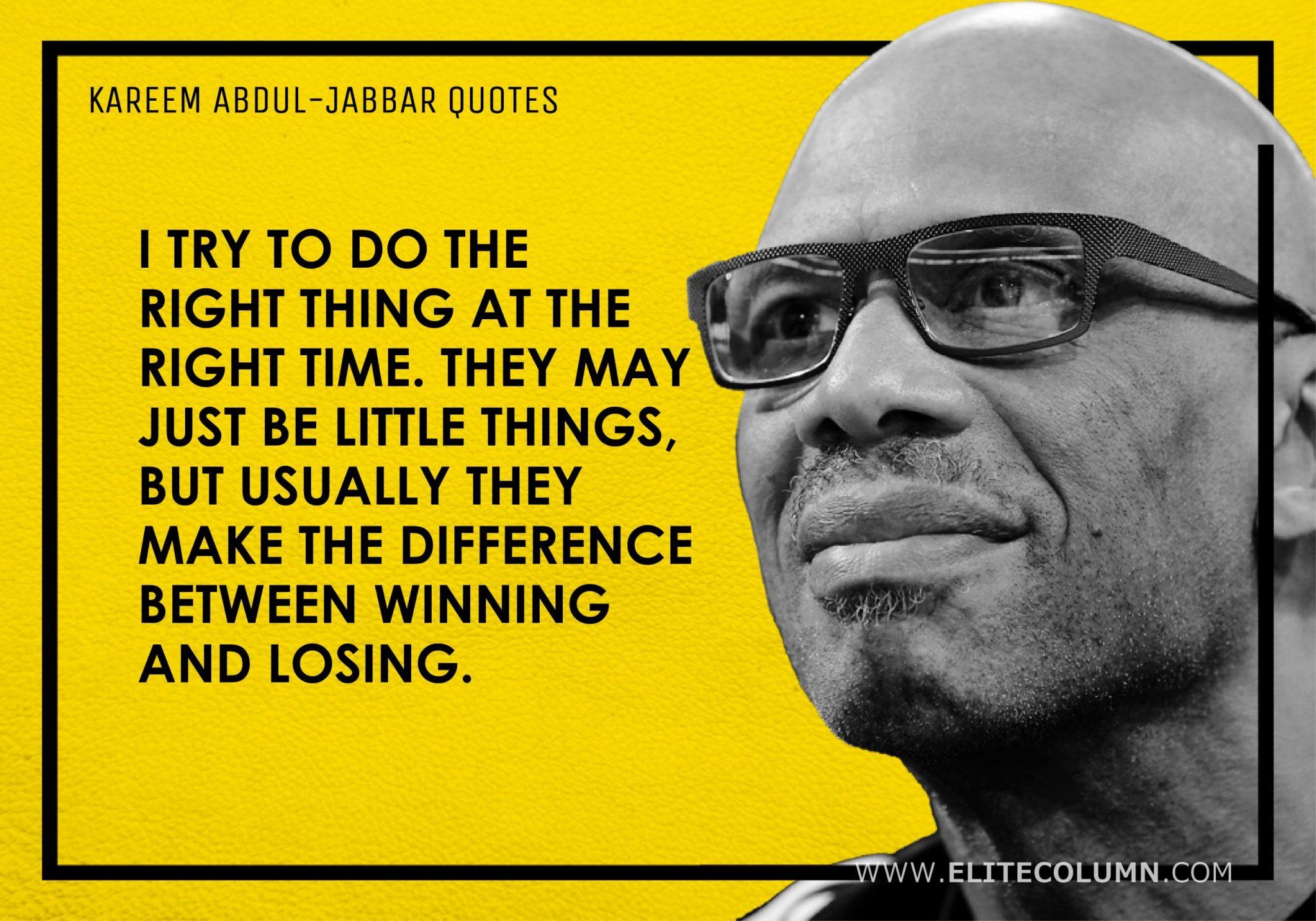 Kareem Abdul-Jabbar Quotes (12)