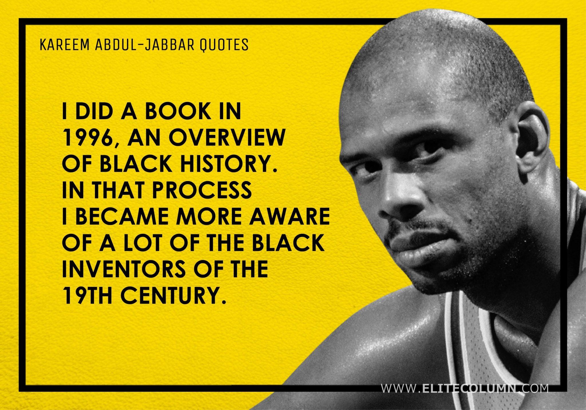 Kareem Abdul-Jabbar Quotes (14)