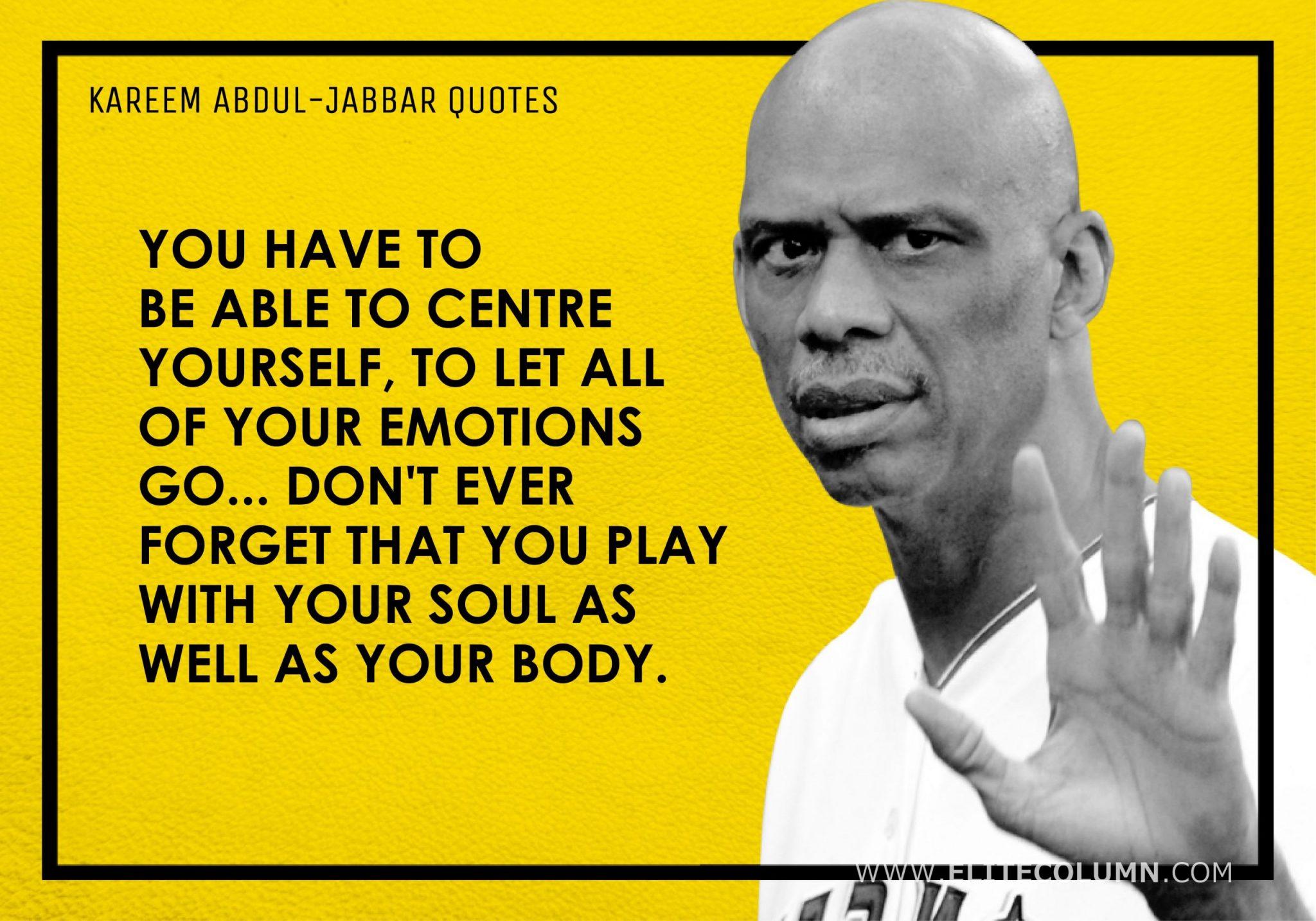 Kareem Abdul-Jabbar Quotes (2)