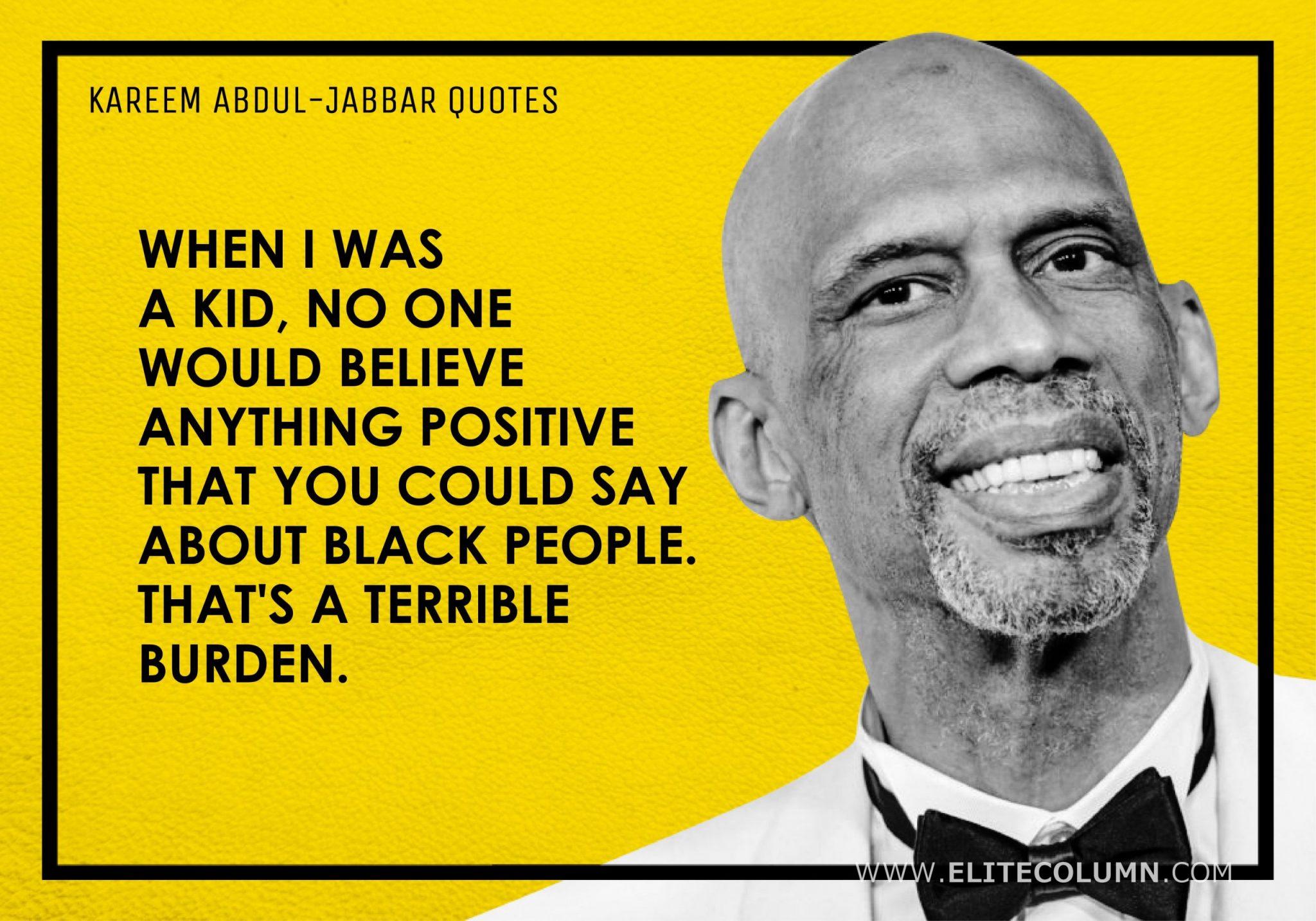 Kareem Abdul-Jabbar Quotes (3)