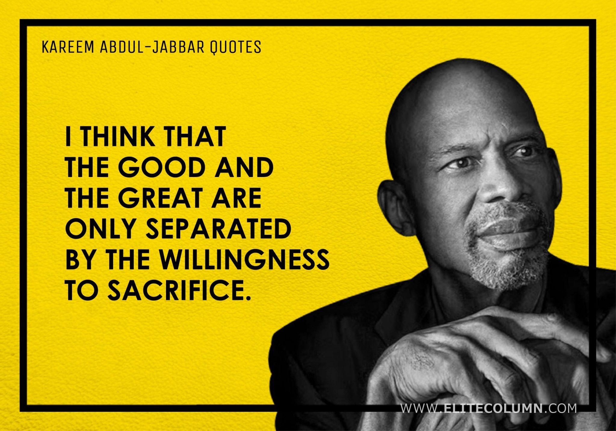 Kareem Abdul-Jabbar Quotes (4)