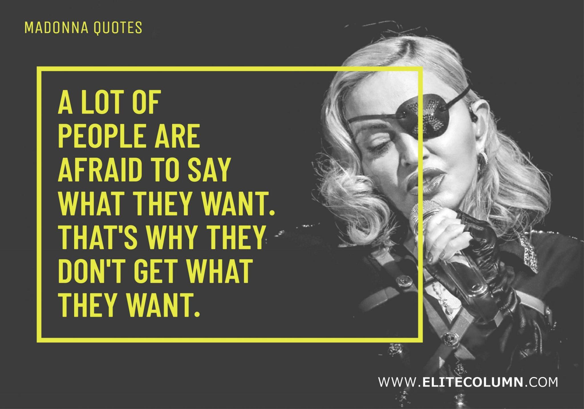 Madonna Quotes (2)
