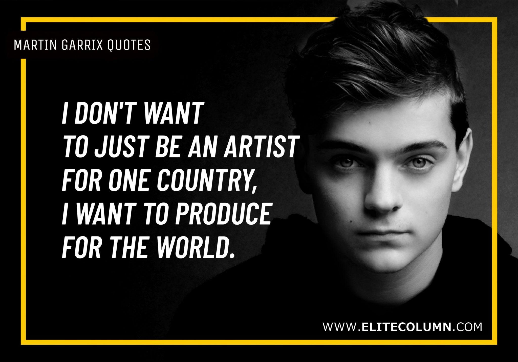 Martin Garrix Quotes (2)