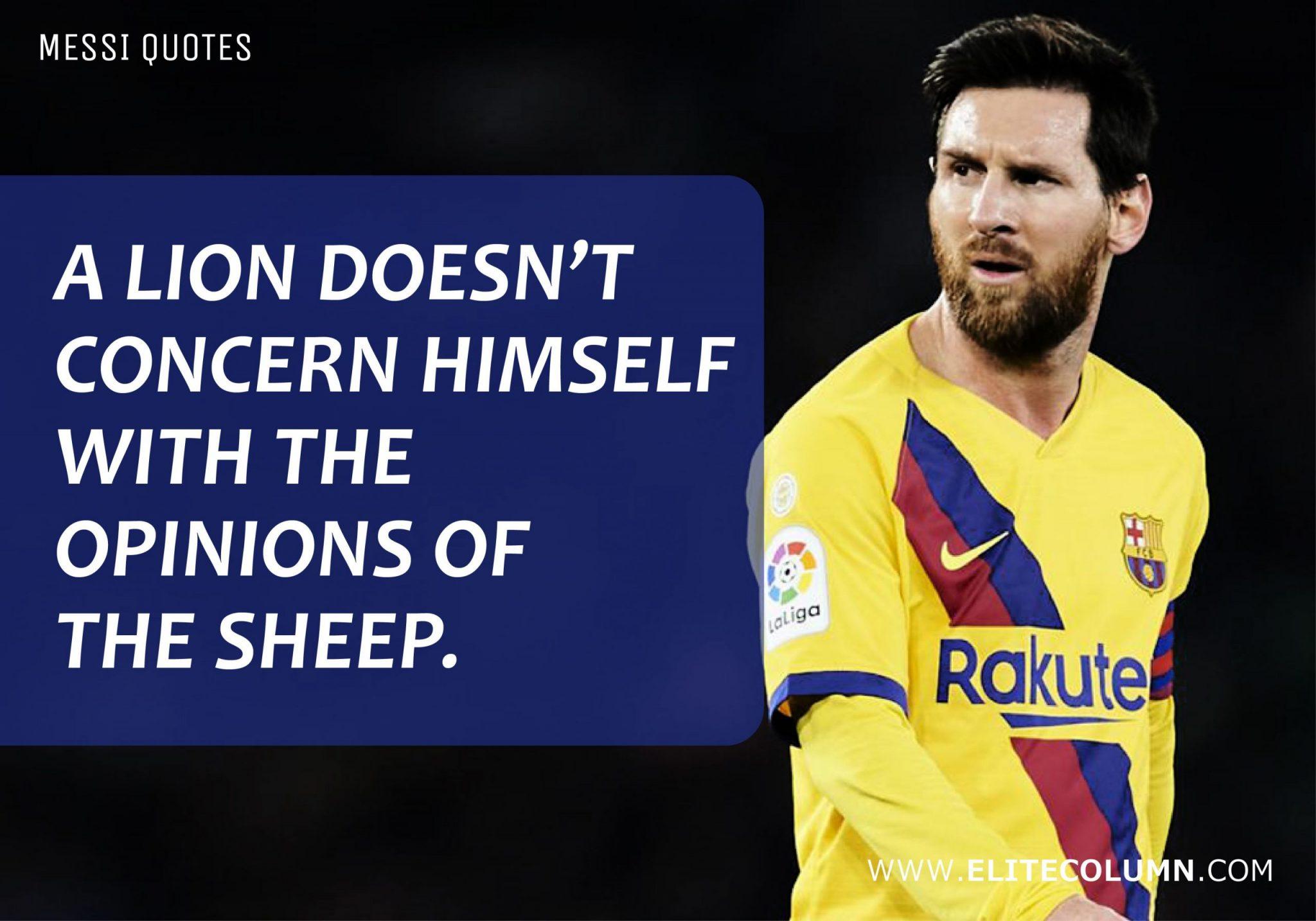 Messi Quotes (3)