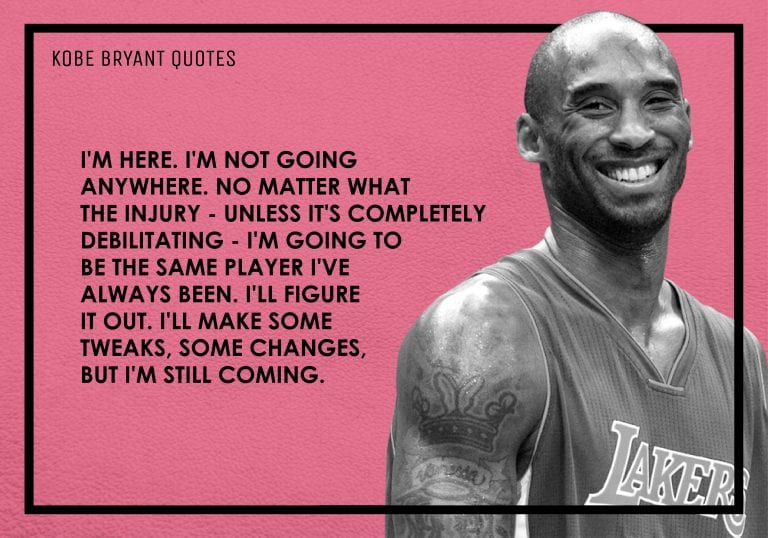 36 Kobe Bryant Quotes That Will Motivate You