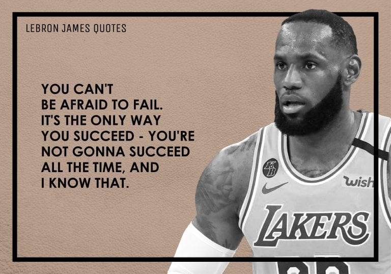 14 LeBron James Quotes That Will Inspire You