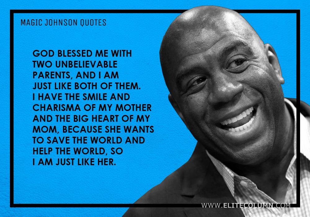 Magic Johnson Quotes (10)