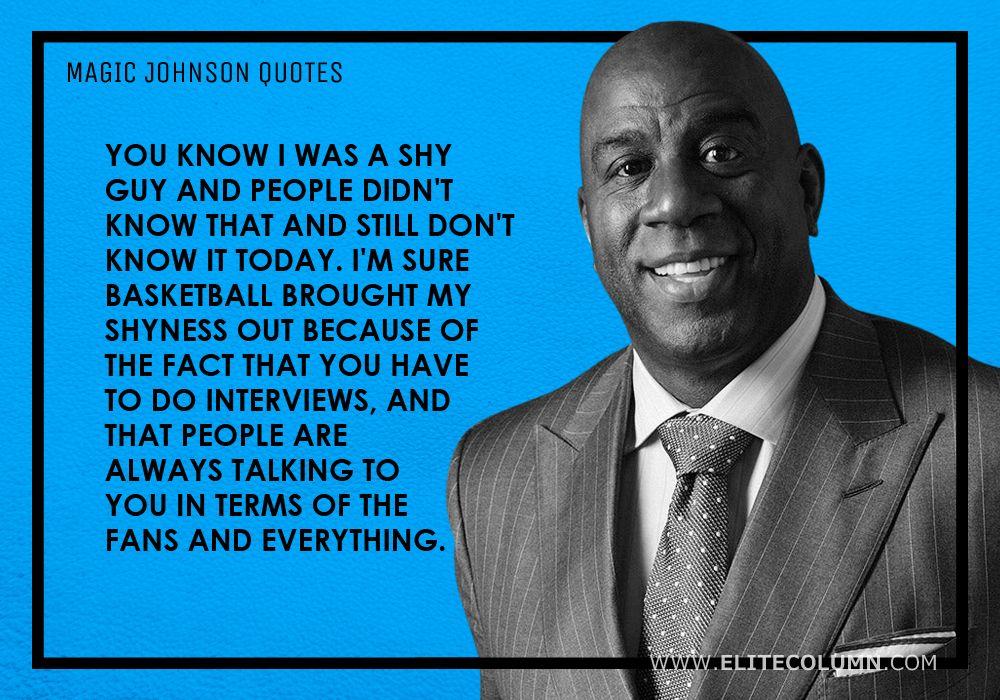 Magic Johnson Quotes (7)