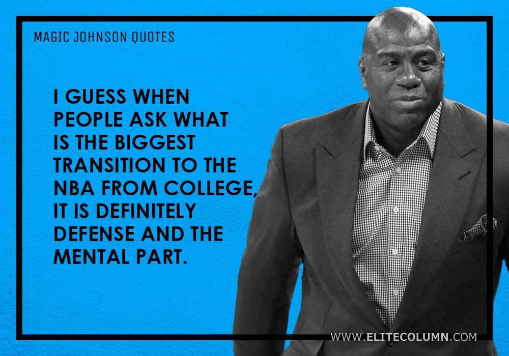 Magic Johnson Quotes (9)