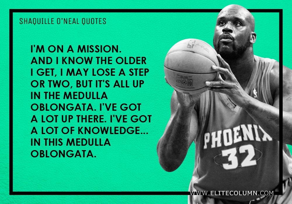 Shaquille O'Neal Quotes (13)