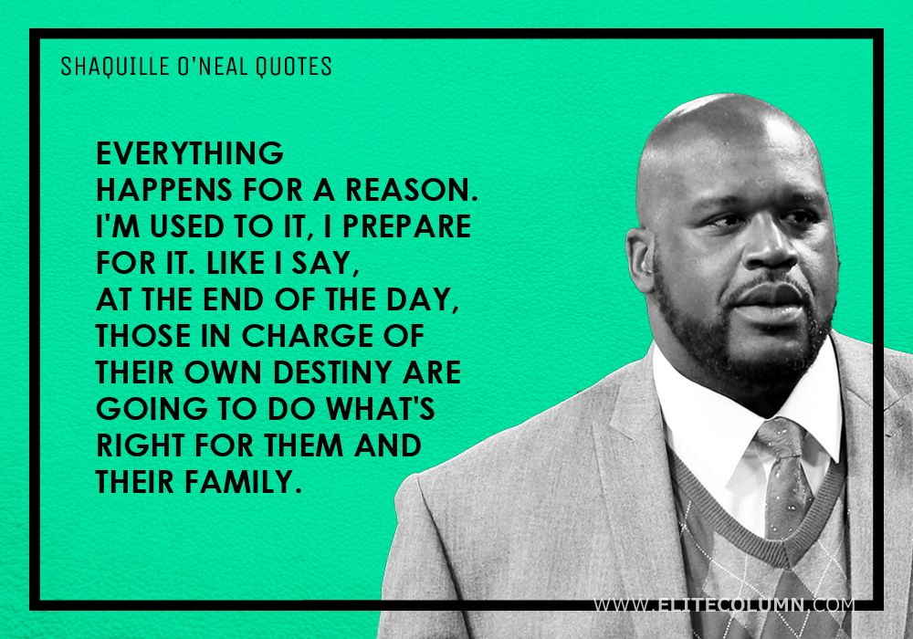 Shaquille O'Neal Quotes (9)