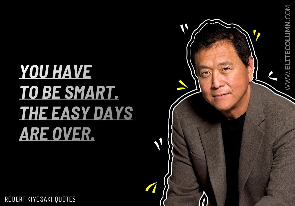 Robert Kiyosaki Quotes (1)