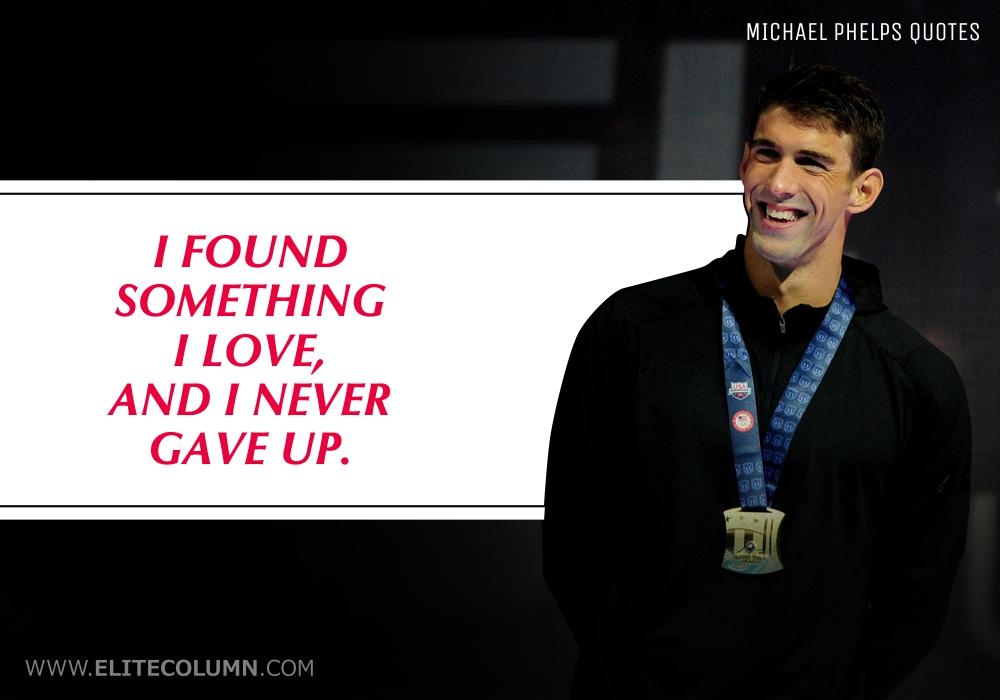 Michael Phelps Quotes (1)