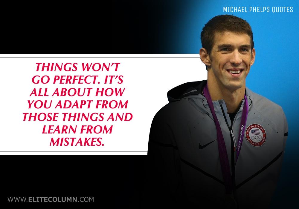 Michael Phelps Quotes (10)