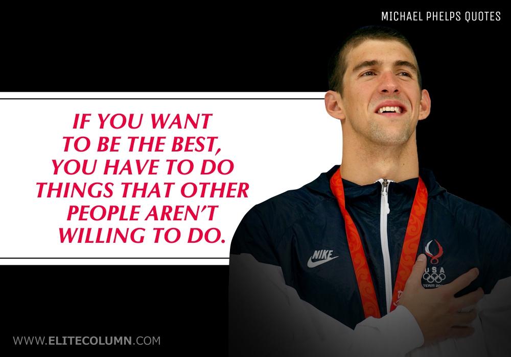 Michael Phelps Quotes (3)