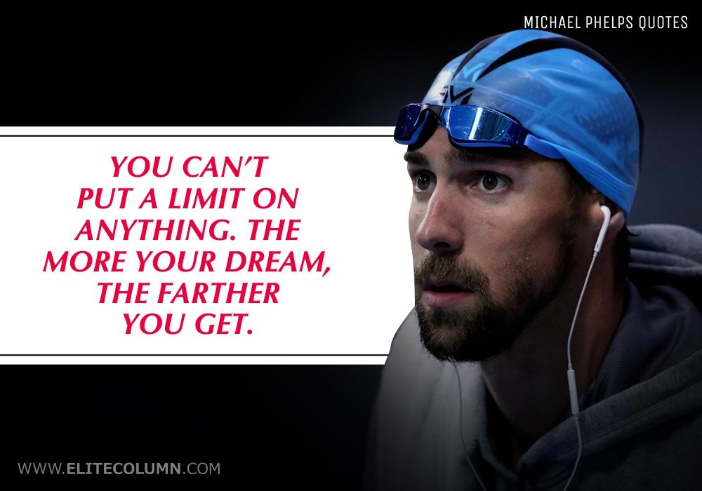 Michael Phelps Quotes (5)