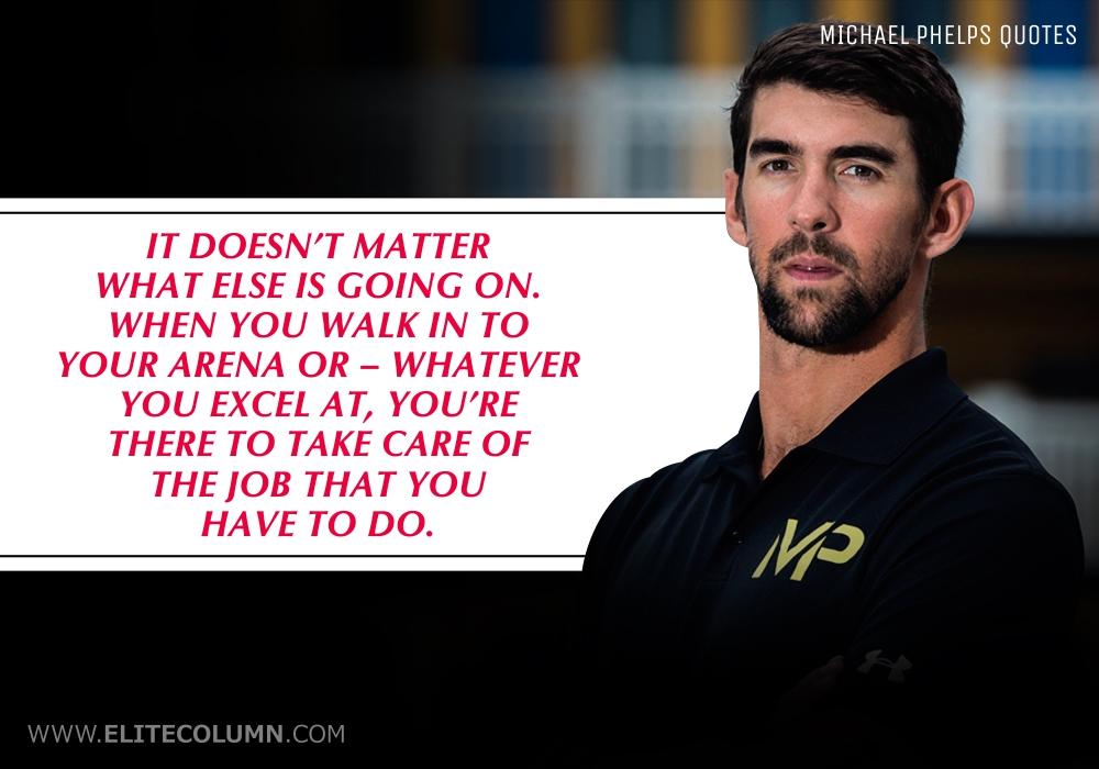 Michael Phelps Quotes (6)