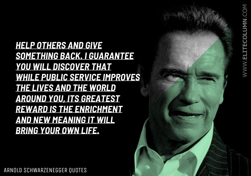 Arnold Schwarzenegger Quotes (7)