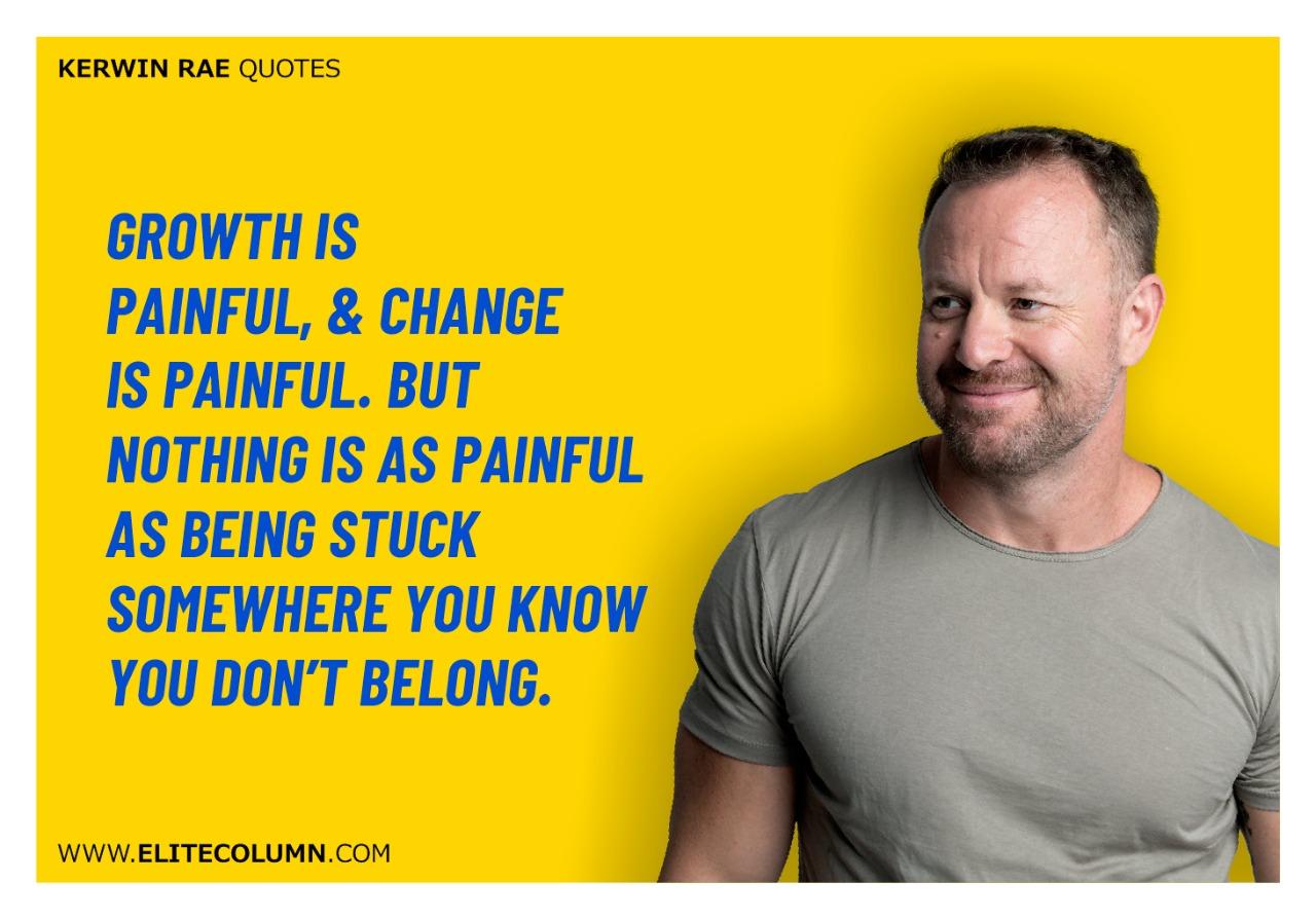 Kerwin Rae Quotes (1)