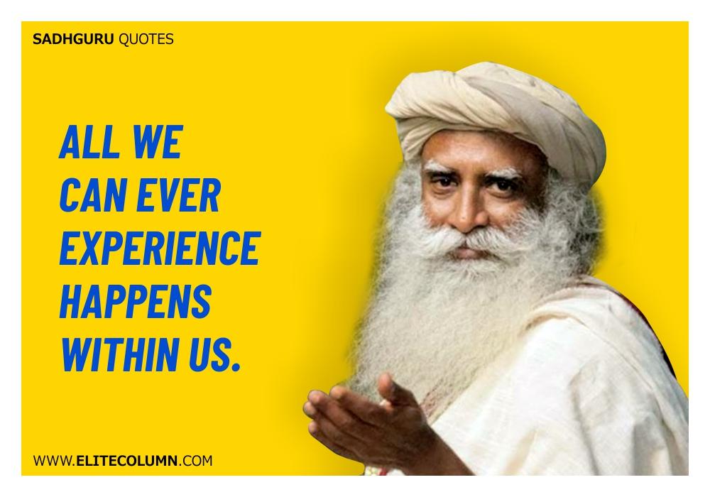 Sadhguru Quotes (19)
