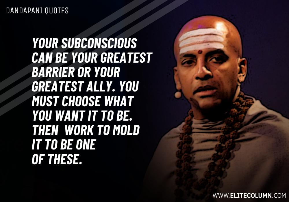 Dandapani Quotes (5)