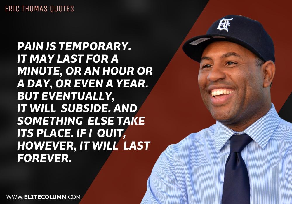 Eric Thomas Quotes (2)