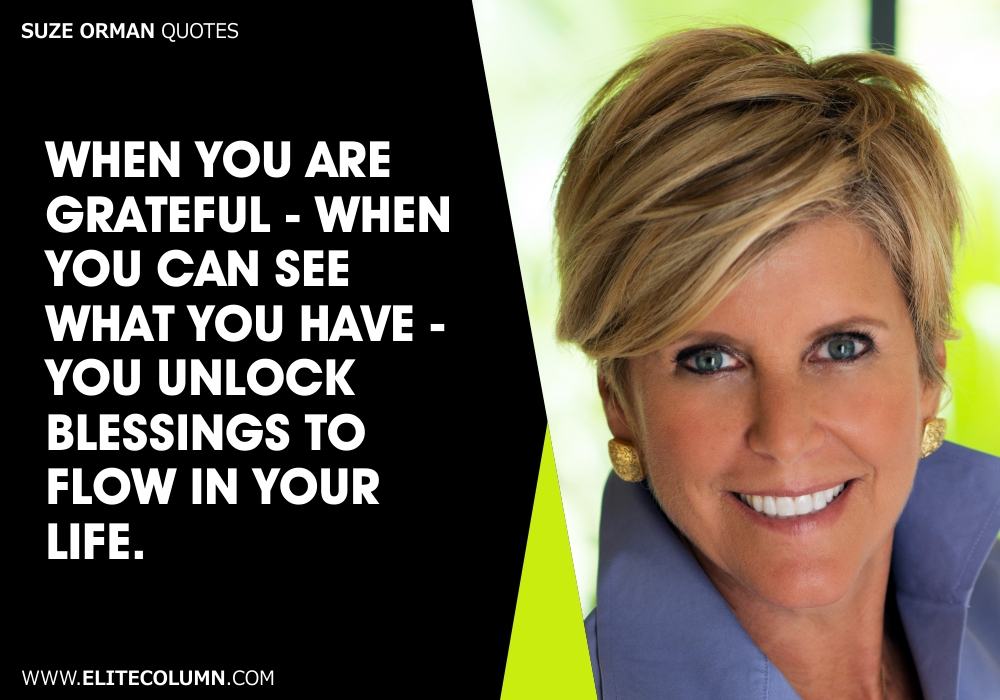 Suze Orman Quotes (10)
