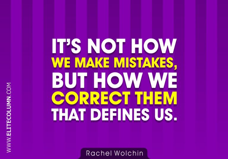 50 Mistake Quotes That Will Make You Strong