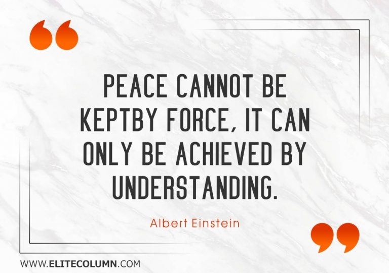 50 Peace Quotes That Will Inspire You