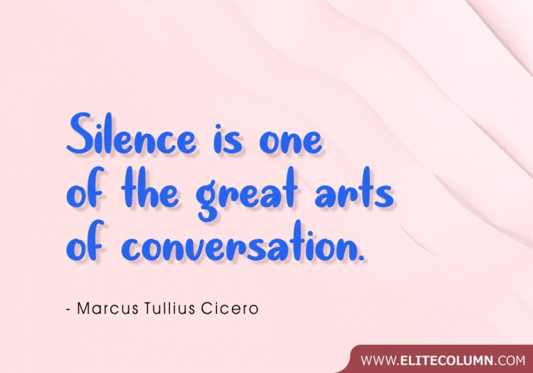 50 Silence Quotes That Will Make You Feel Calm