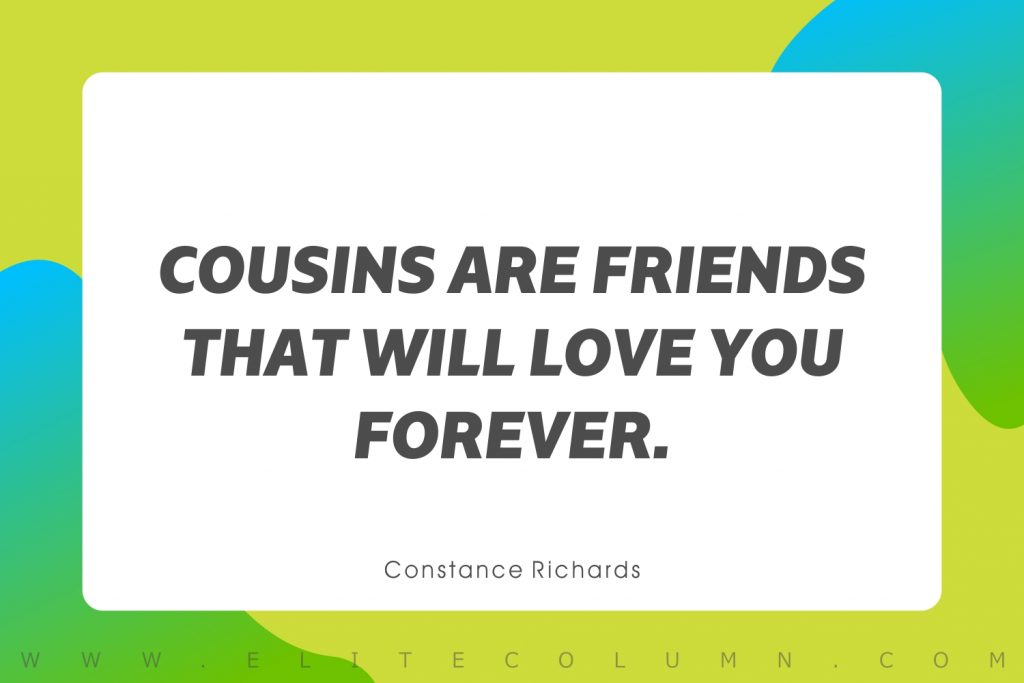 Cousin Quotes (1)
