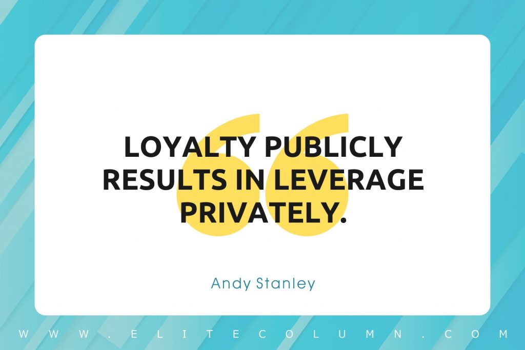 Loyalty Quotes (10)