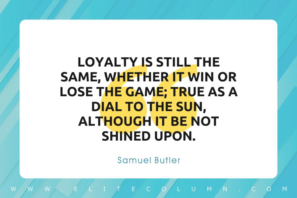 Loyalty Quotes (4)
