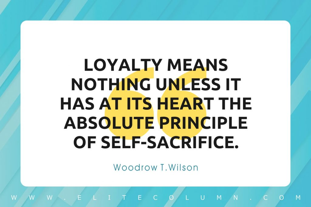 Loyalty Quotes (6)