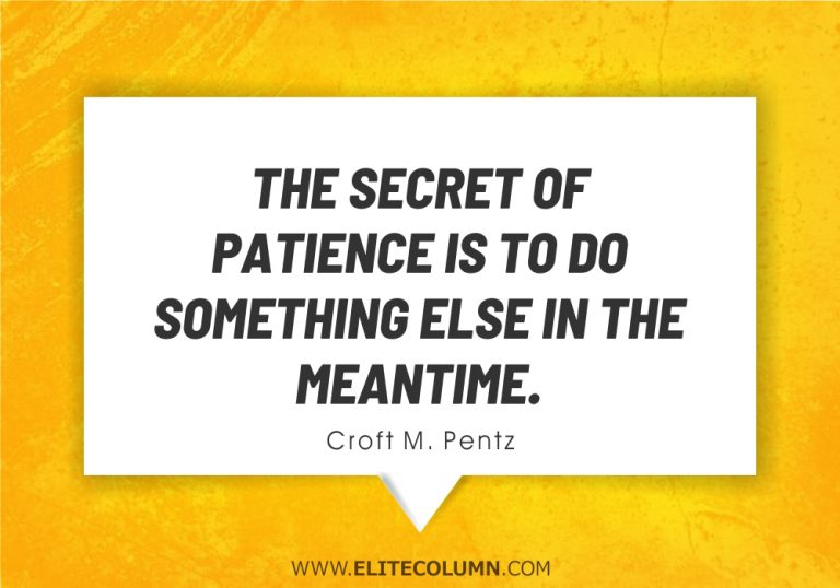50 Patience Quotes That Will Help You Succeed