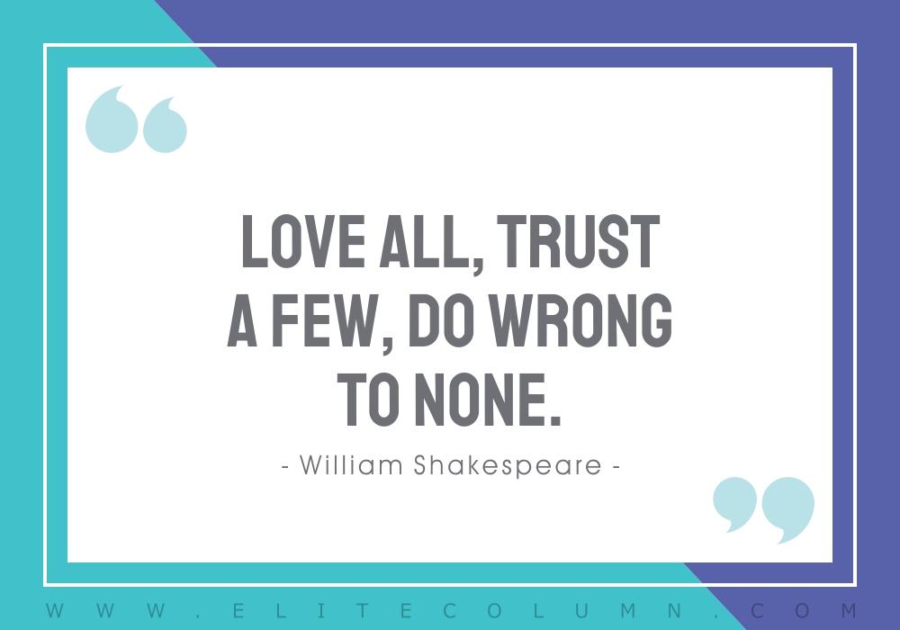 Trust Quotes (5)