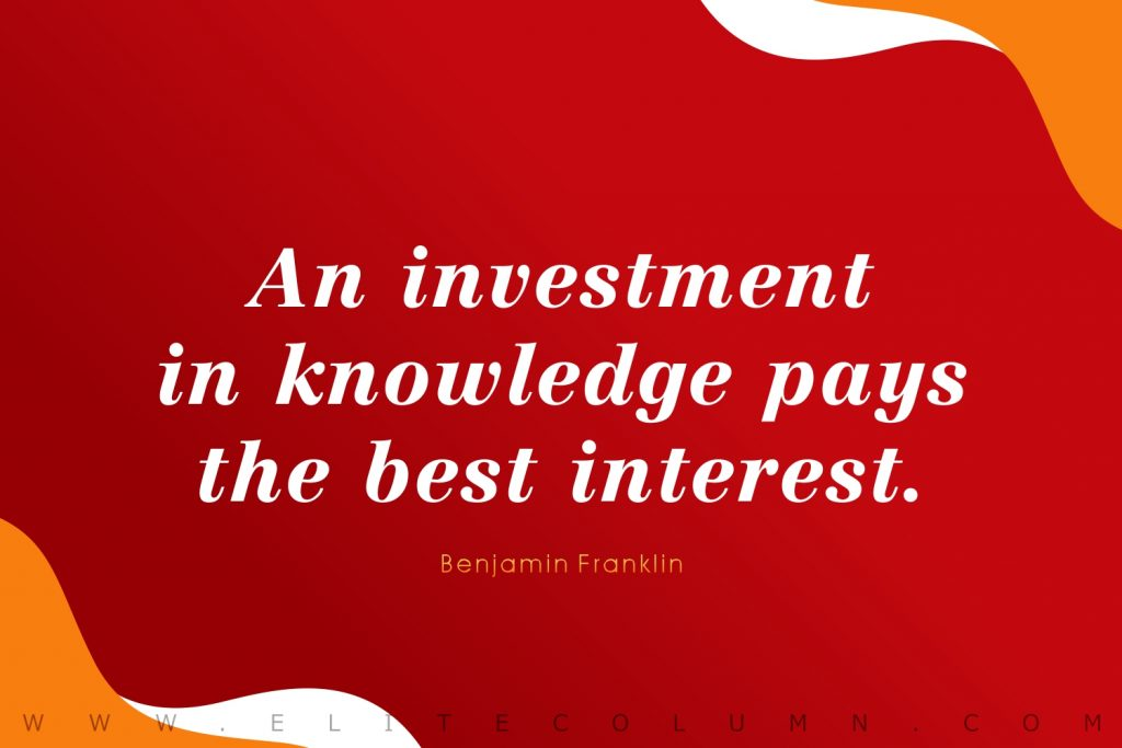Benjamin Franklin Quotes (10)