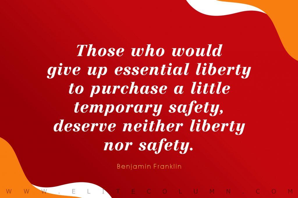 Benjamin Franklin Quotes (3)