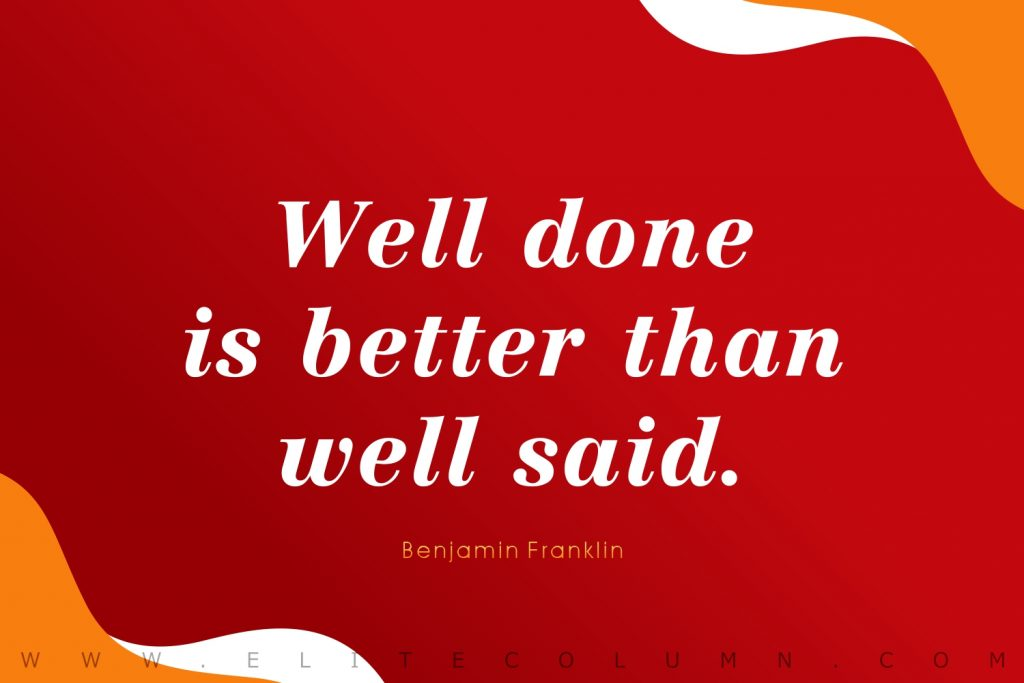 Benjamin Franklin Quotes (5)