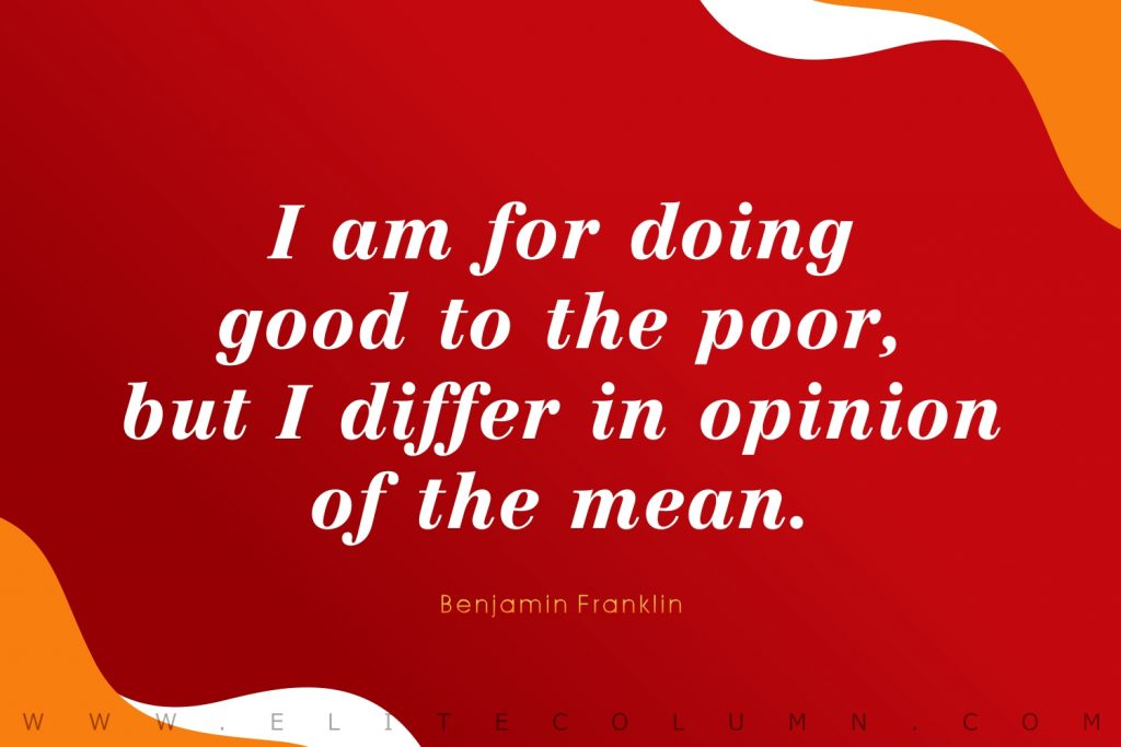 Benjamin Franklin Quotes (7)