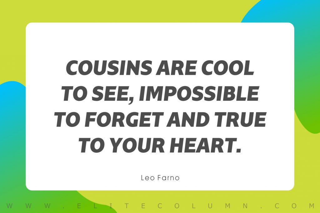 Cousin Quotes (10)